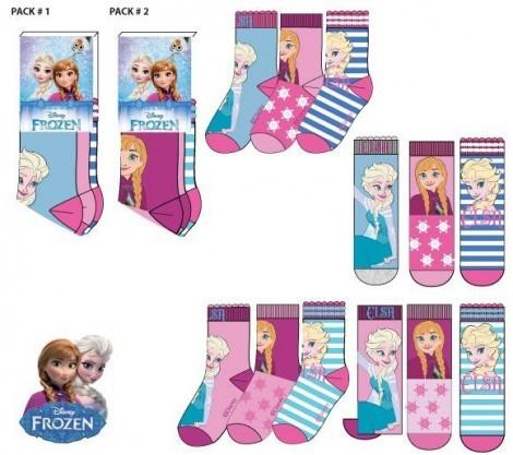 Disney Jégvarázs zokni szett (27-34)
