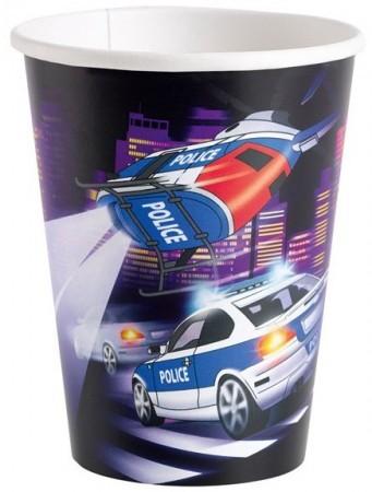 Police parti pohár (8 db-os)