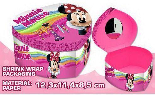 Disney Minnie szív alakú ékszertartó doboz