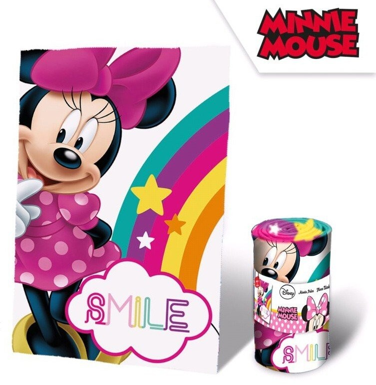 Disney Minnie plüss takaró