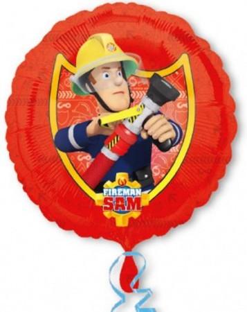 Sam a tűzoltó fólia lufi