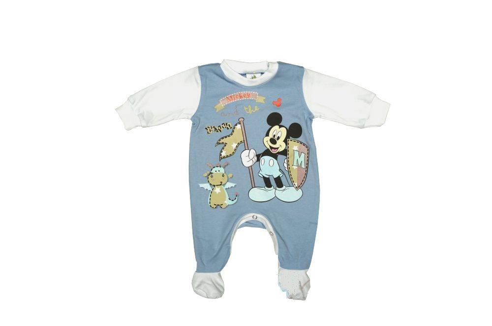Disney Mickey hosszú ujjú rugdalózó / tipegő (56-74 cm)