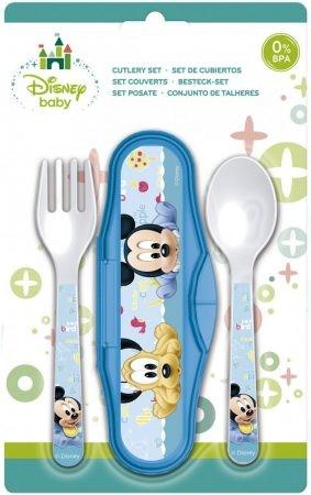 Disney Mickey baba utazó evőeszköz készlet