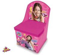 Disney Soy Luna játéktároló fotel