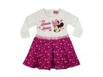 Disney Minnie ruha csillogó mintával (86-98)