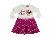 Disney Minnie ruha csillogó mintával -86 cm-es- UTOLSÓ DARAB