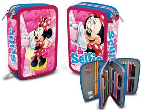 Disney Minnie 3 emeletes töltött tolltartó