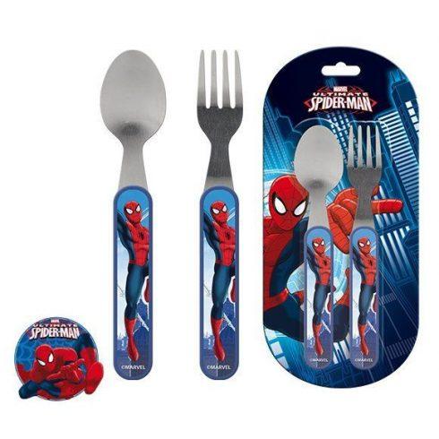 Pókember evőeszköz készlet