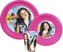 Disney Soy Luna étkészlet