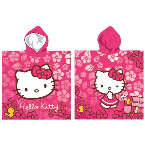 Hello Kitty poncsó