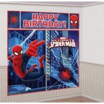 Pókember fali dekoráció (5 darabos szett)