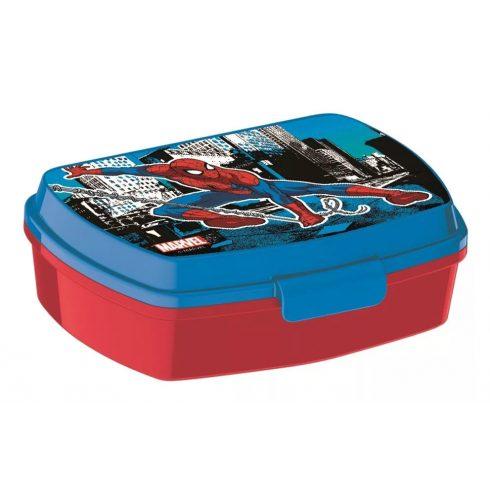 Pókember szendvicsdoboz / uzsonnás doboz