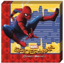 Pókember szalvéta (20 db-os)