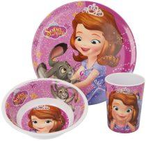 Disney Szófia hercegnő étkészlet