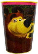 Mása és a medve pohár