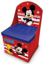 Mickey játéktároló fotel