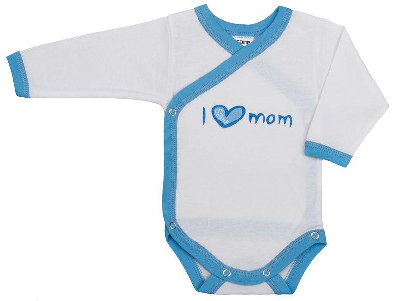 3ade062003 Vicces, feliratos hosszú ujjú body - I love mom - Mese Bazár ...