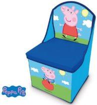 Peppa malac játéktároló fotel