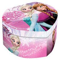 Disney Jégvarázs szív alakú ékszertartó doboz