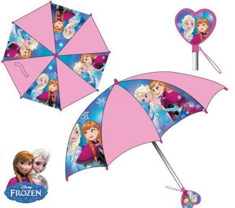 Disney Jégvarázs gyerek esernyő mintás fogantyúval