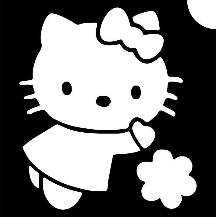 Hello Kitty csillámtetoválás sablon - Mese Bazár - Disney ... f03df77426