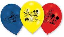 Disney Mickey léggömb / lufi (6 db-os)
