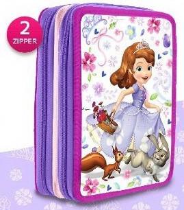 Disney Szófia hercegnő 2 emeletes töltött tolltartó