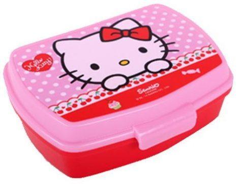 Hello Kitty szendvicsdoboz / uzsonnás doboz