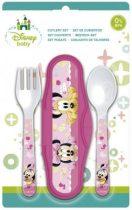 Disney Minnie baba utazó evőeszköz készlet