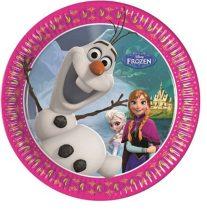 Disney Jégvarázs papírtányér (8 db-os)