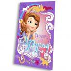 Disney Szófia hercegnő polár takaró