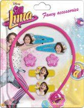 Soy Luna hajcsat, hajgumi, hajpánt szett