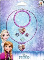 Jégvarázs nyaklánc, karkötő, gyűrű szett