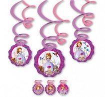 Disney Szófia hercegnő szalag dekoráció (6 db-os)