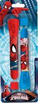 Pókember elemlámpa + toll szett