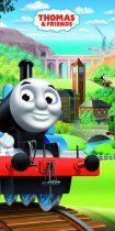 Thomas és barátai fürdőlepedő - strand törölköző