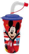 Disney Mickey szívószálas pohár