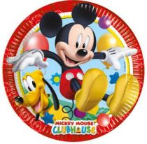 Disney Mickey papírtányér (8 db-os)