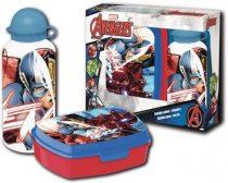 Bosszúállók - Marvel uzsonnás doboz+alumínium kulacs szett