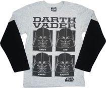 Star Wars Darth Vader hosszú ujjú póló (méret:116-152)