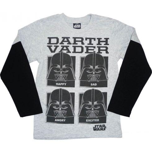 Star Wars Darth Vader hosszú ujjú póló -146 cm-es - UTOLSÓ DARAB