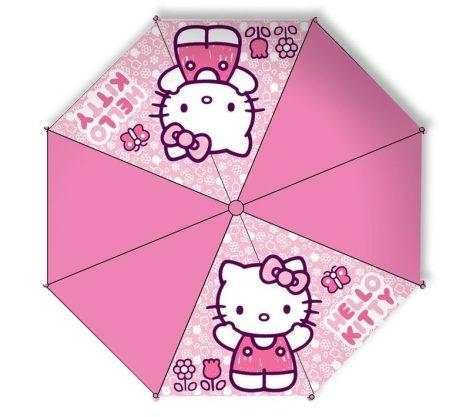 Hello Kitty félautomata gyerek esernyő