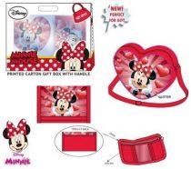 Disney Minnie oldaltáska + pénztárca szett