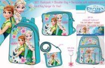 Jégvarázs táska szett (hátizsák+oldaltáska+pénztárca)