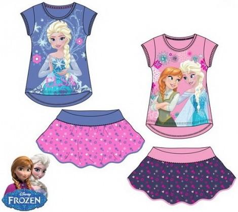 Disney Jégvarázs póló + szoknya szett - 128 cm-es - UTOLSÓ DARAB ... 70a5a93395