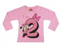 Disney Minnie szülinapos póló - 2 éves