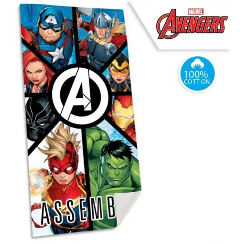 Bosszúállók Marvel gyorsan száradó fürdőlepedő - strand törölköző