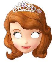 Disney Szófia hercegnő álarc (6 db-os)