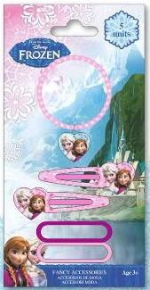 Disney Jégvarázs karkötő, hajgumi, hajcsat szett