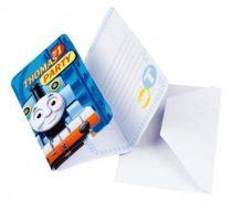 Thomas és barátai party meghívó (6 db-os)
